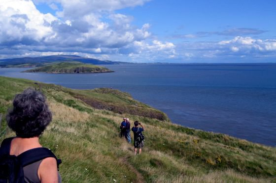 coastal walking balcarry dumfries and galloway