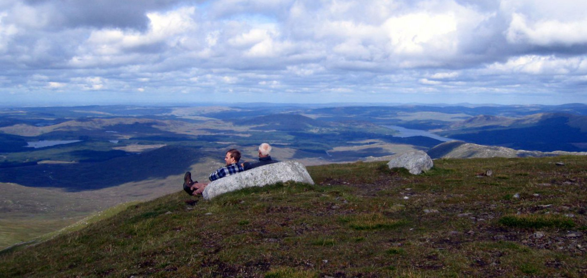 hill walking merrick highest summit southern scotland
