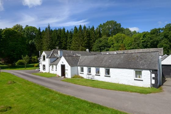 woodsedge dog friendly self catering cottage in scotland