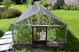 greenhouse victorian walled garden