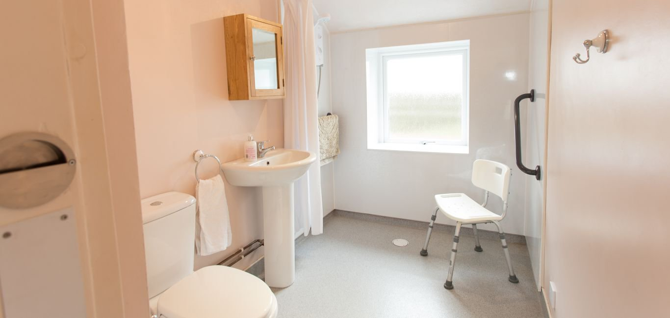 wheelchair accessible holiday home dumfries and galloway wet room