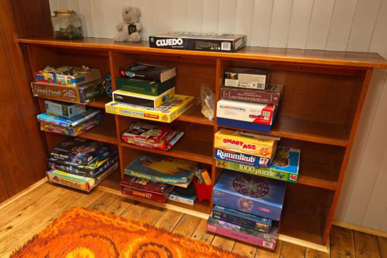 We provide a range of games for family fun