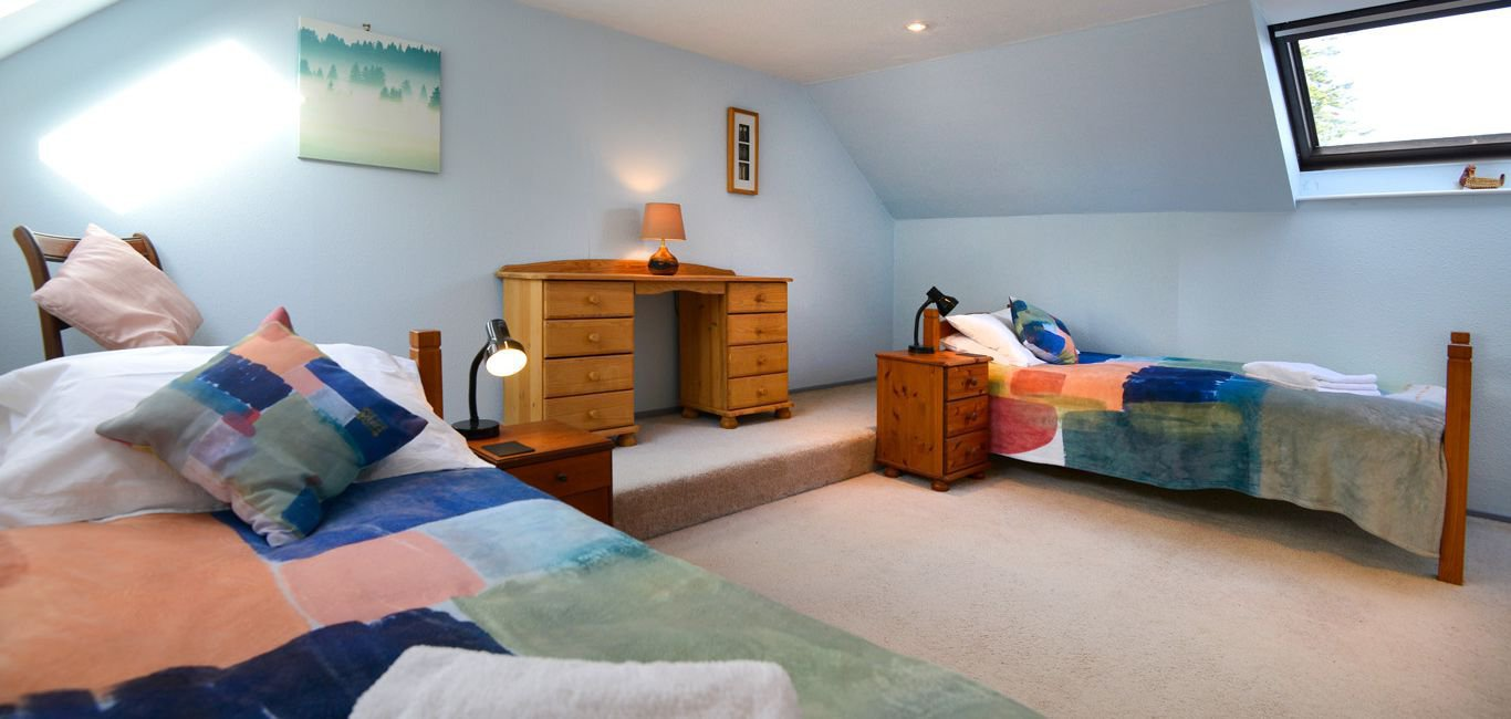 twin bedroom mews holiday cottage near castle douglas