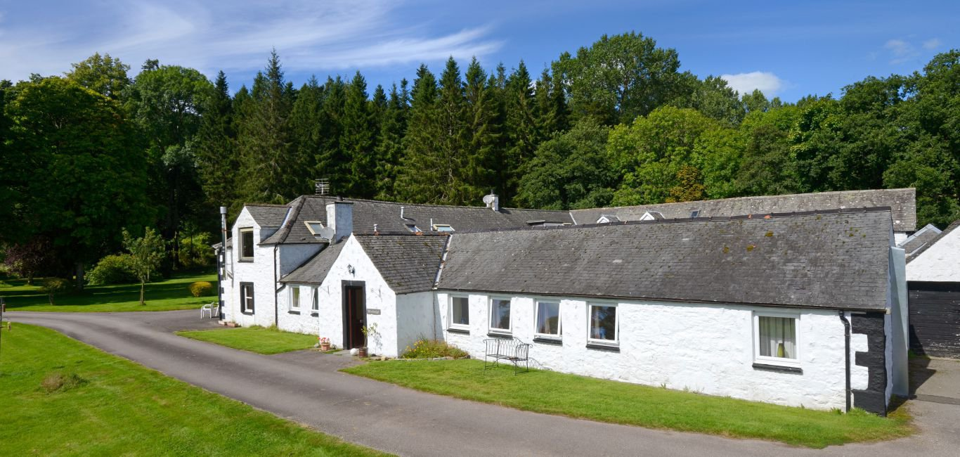 woodsedge holiday cottage dumfries and galloway exterior