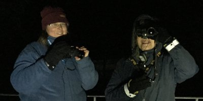 Participants on a nocturnal wildlife experience dumfries and galloway