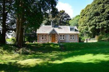 The Lodge holiday cottage nocturnal wildlife experience dumfries and galloway