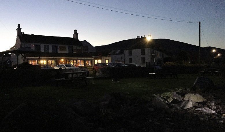 The Steamboat Inn, Carsethorn, Southerness to Carsethorn walk