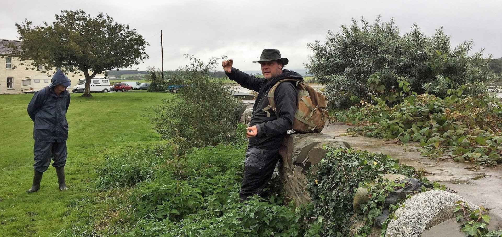 Foraging for wild foods in Dumfries and Galloway with Mark Williams of Galloway Wild Foods